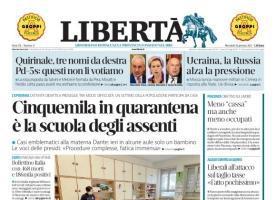 Libertà - Il quotidiano online di oggi