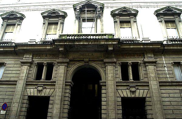 Il palazzo della Provincia di Piacenza