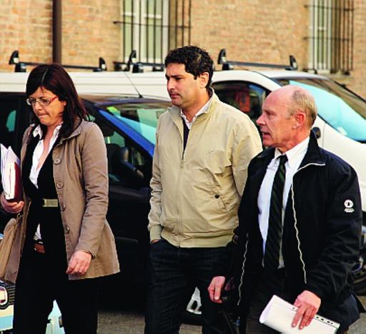 L'ex assessore Allegri e i suoi avvocati