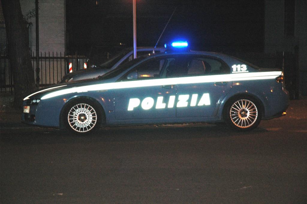 volante notturna polizia