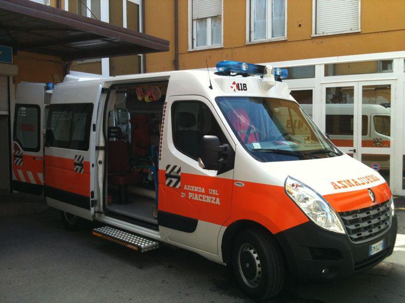 Ambulanza castelsangiovanni