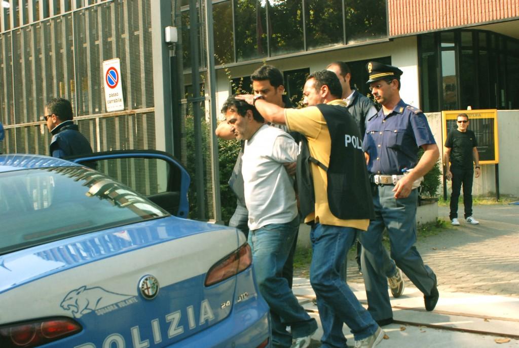 L'arresto di Domenico Iania