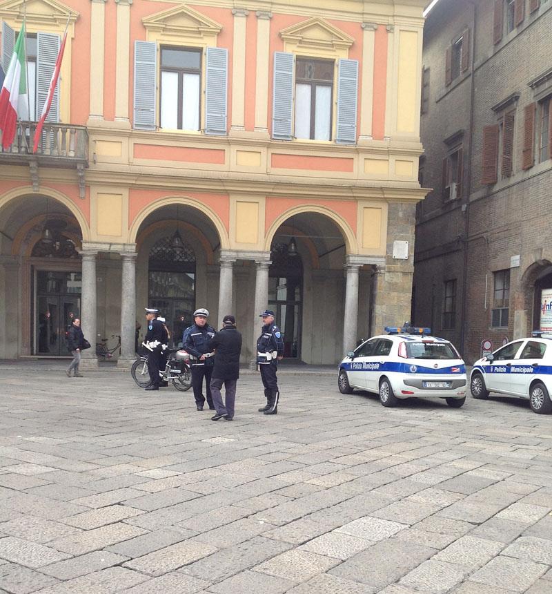 Polizia municipale vigili urbani