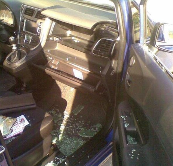 furto auto interno