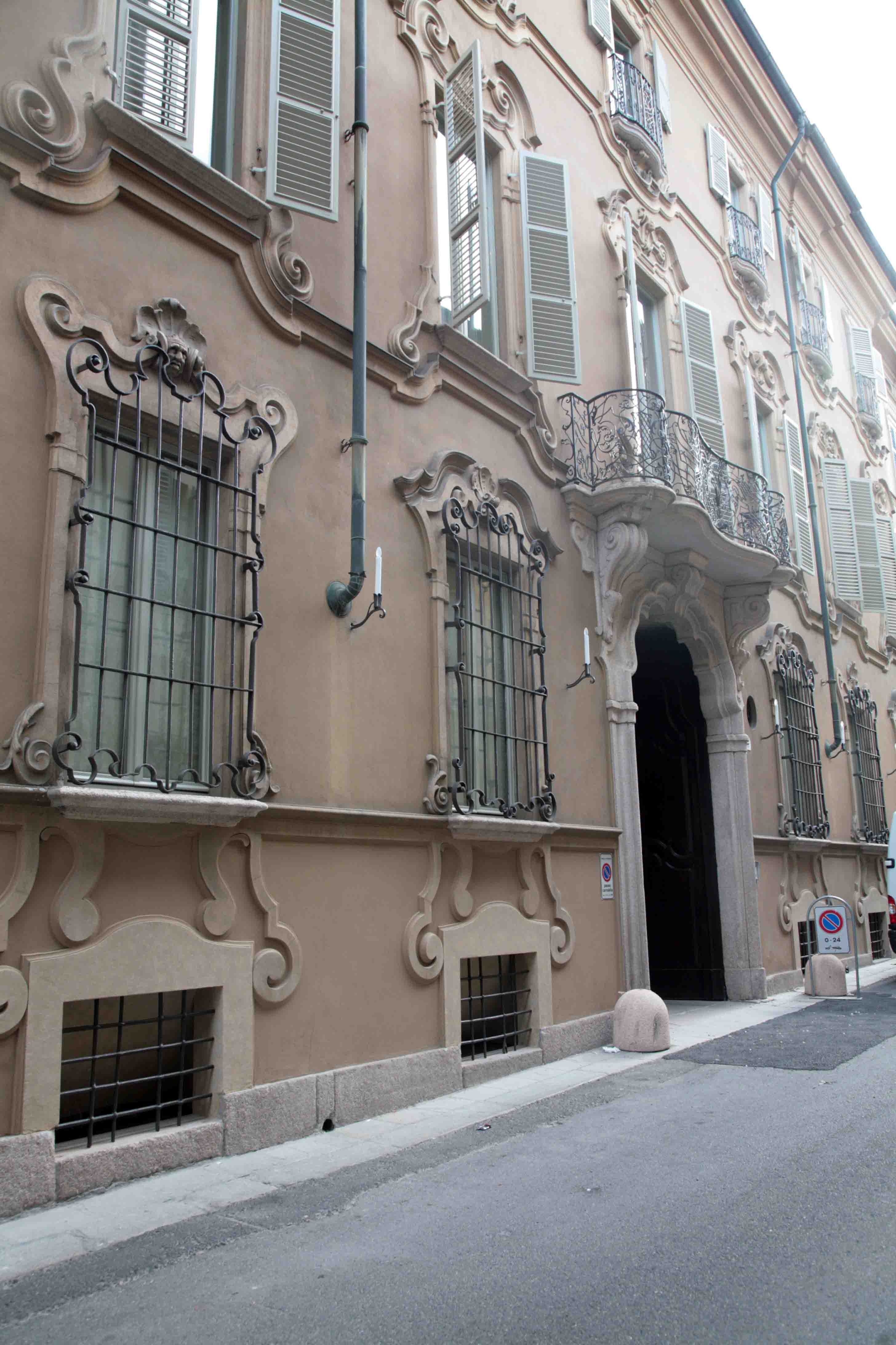 L'ingresso della Fondazione di Piacenza e Vigevano