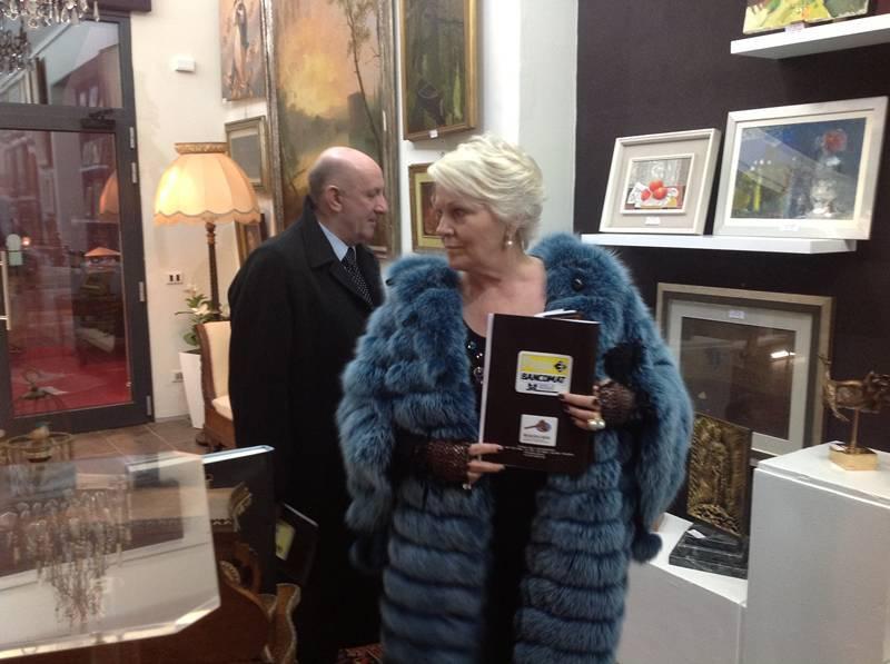 Katia ricciarelli a piacenza per l inaugurazione della casa d aste iori - Ricci casa piacenza ...