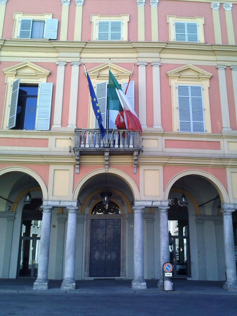 Palazzo Mercanti, sede del Comune di Piacenza