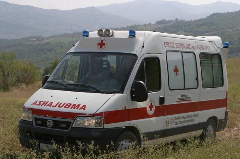 ambulanza provincia prato campo farini