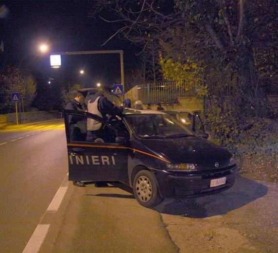 Carabinieri di notte - immagine di repertorio