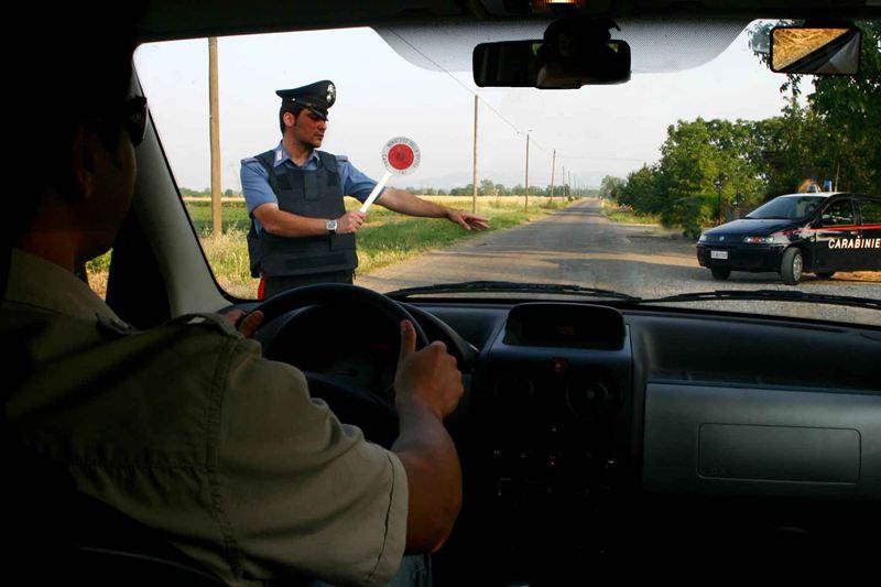 carabinieri provincia posto di blocco 05