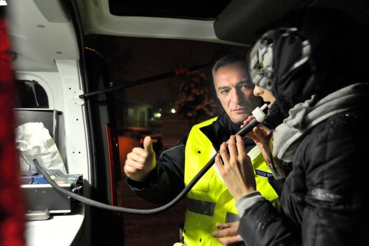 Polizia Municipale  - controlli etilometro