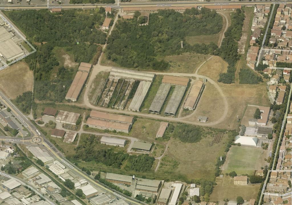 Area della Pertite nell'estate del 2009