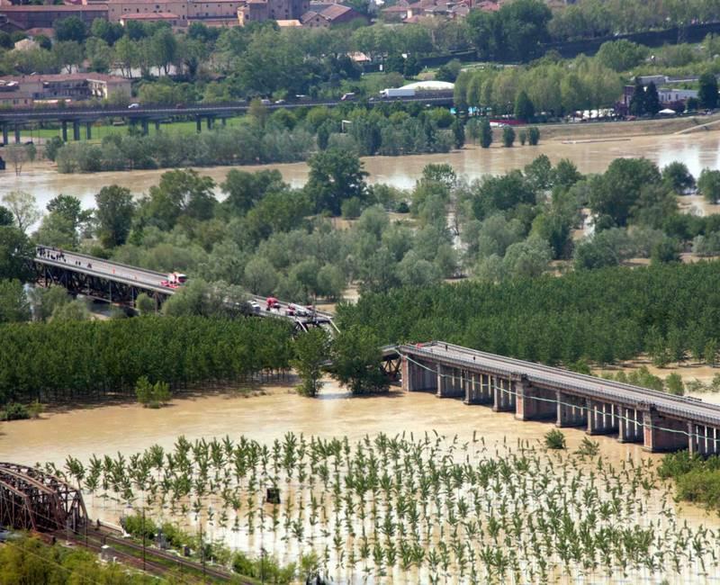 Crollo del ponte sul Po senza colpevoli: la Procura non fa appello