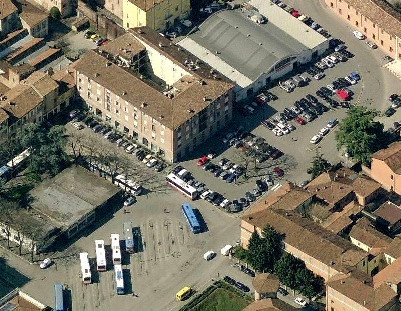 Piazza Cittadella e Piazzale Casali