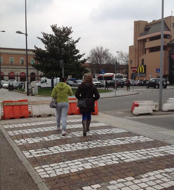 Giunta: in Piazzale Marconi torneranno gli attraversamenti pedonali