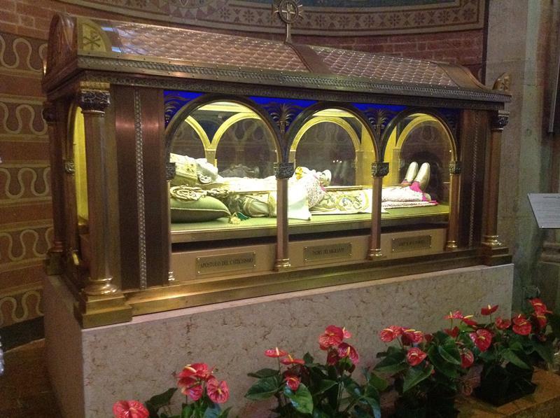 Messa per la ricollocazione dell'urna del beato Scalabrini