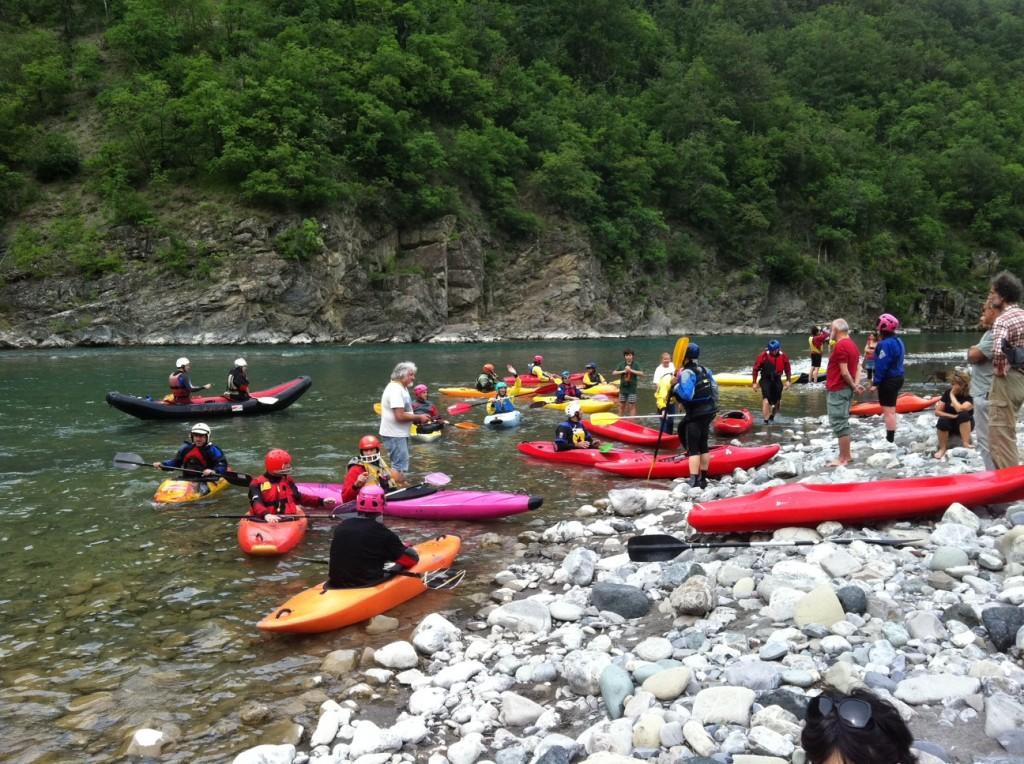 Il richiamo del trebbia - canoe in trebbia
