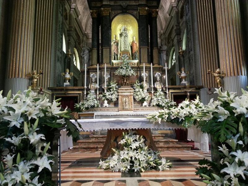 Santa Maria di Campagna addobbata con i fiori (4)