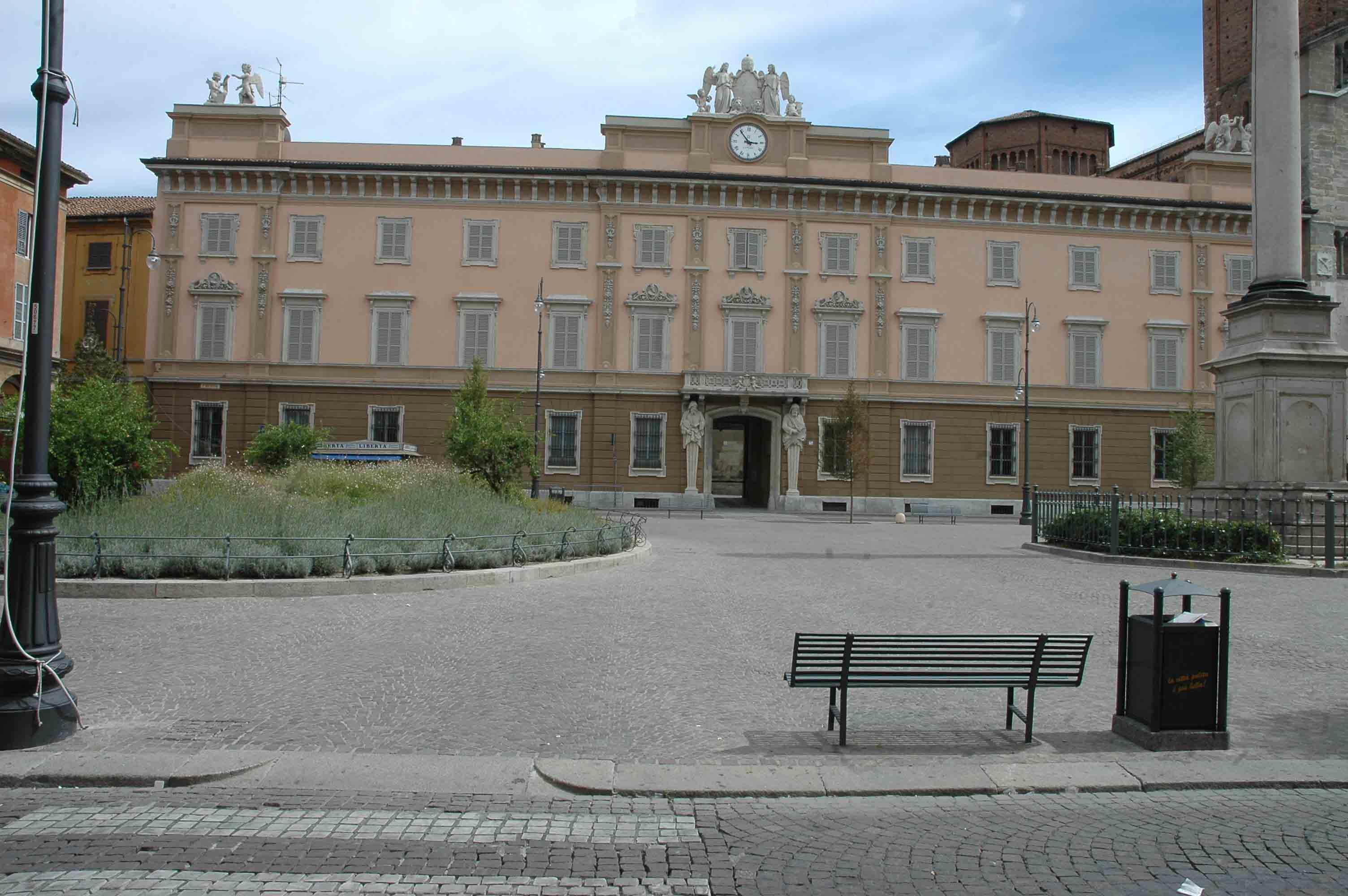 La sede della Curia di Piacenza
