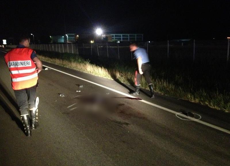Caorsana: era ubriaco il motociclista che ha ucciso la 19enne