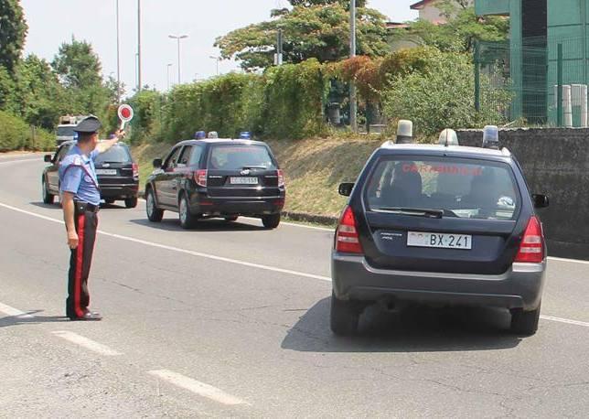 Le operazioni della maxi-retata di oggi da parte dei Carabinieri