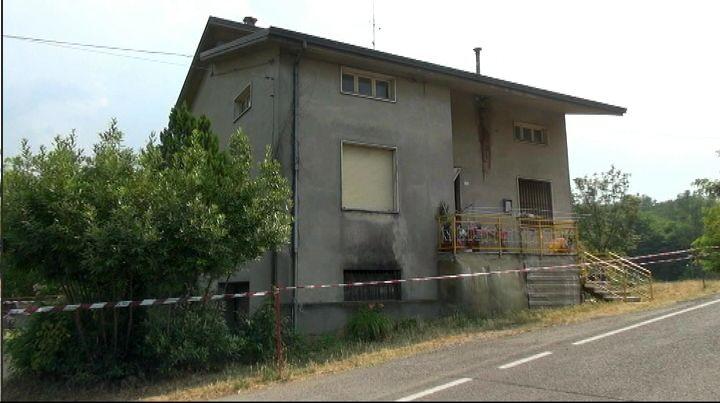 Omicidio Francesco Casella di Gropparello, la casa della famiglia a Sariano