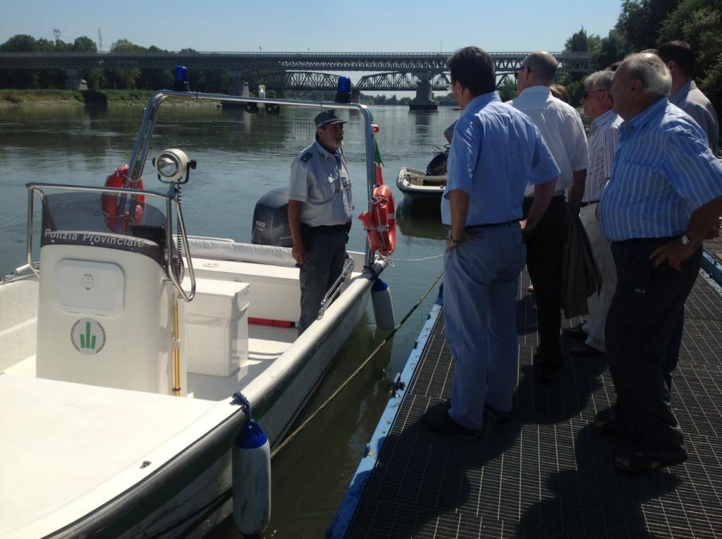 nuova imbarcazione polizia Provinciale