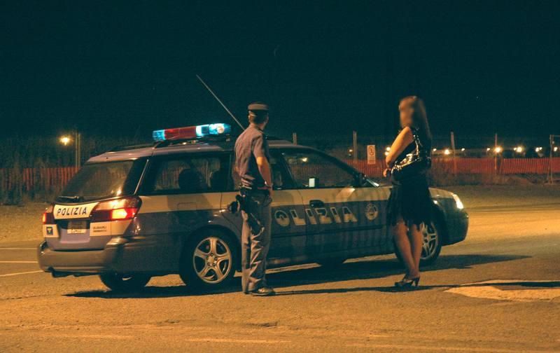 Prostituzione sulla Caorsana (archivio)