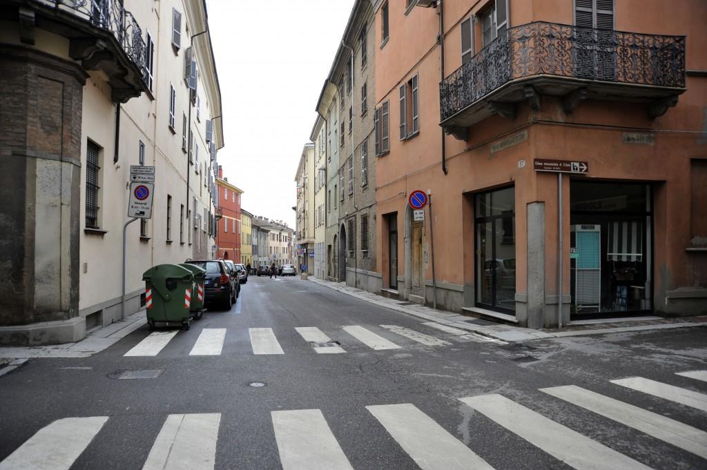 Uno scorcio di via Borghetto