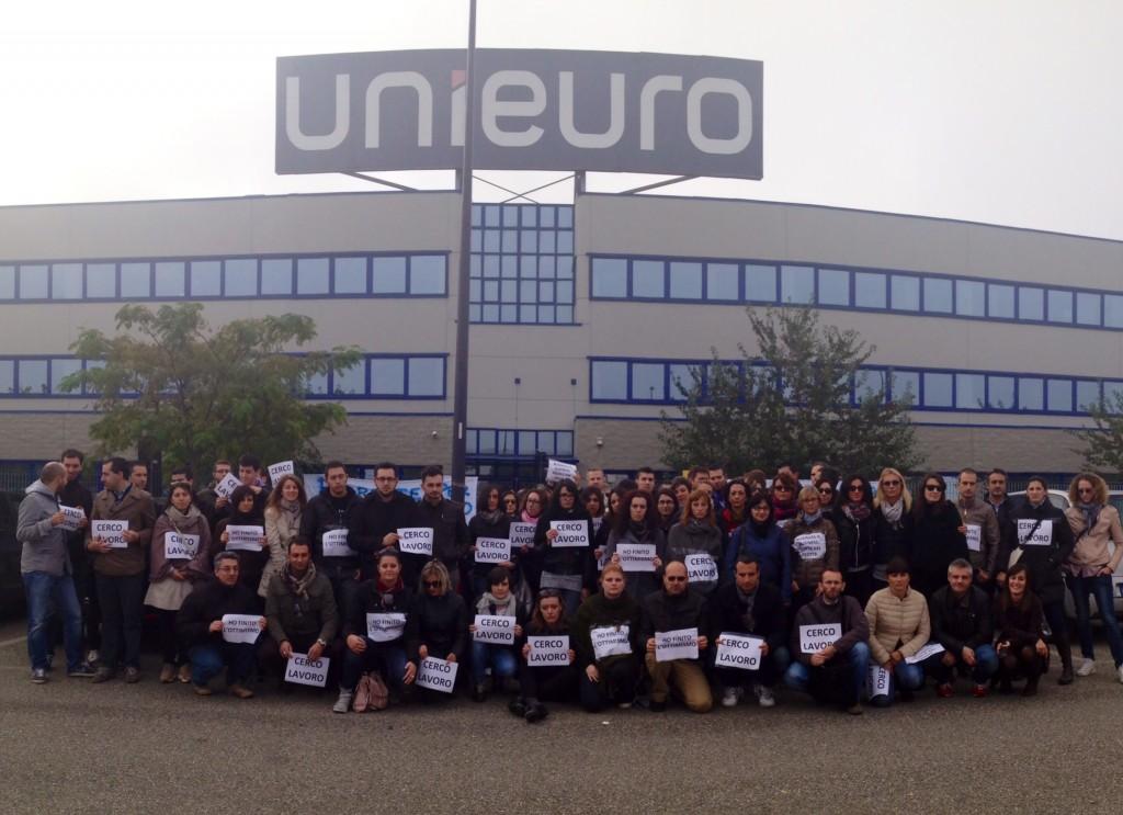 Sciopero dipendenti Unieuro (10)