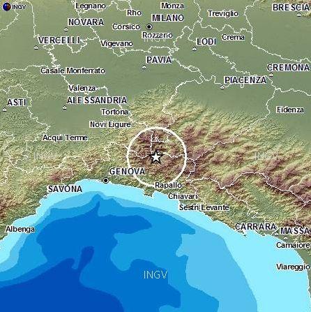 terremoto in alta valtrebbia