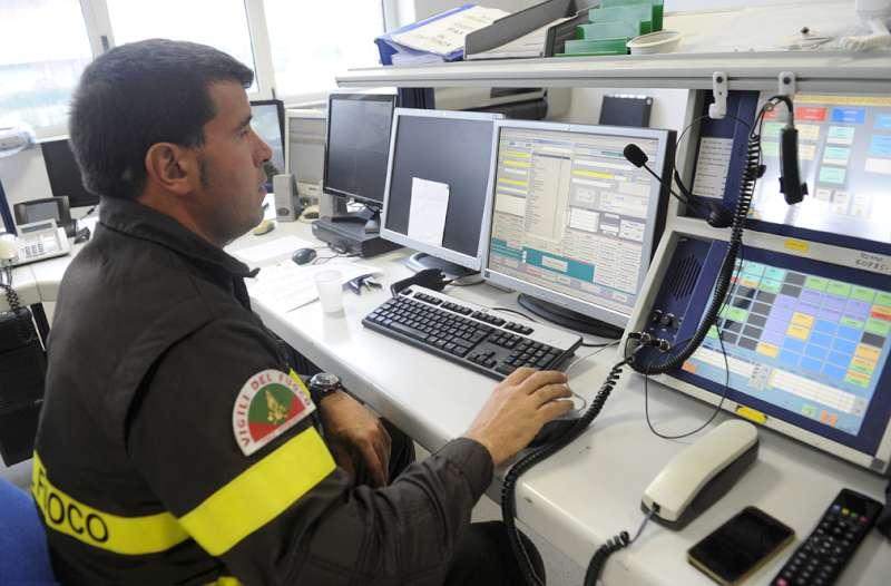 Vigili del Fuoco, centrale operativa
