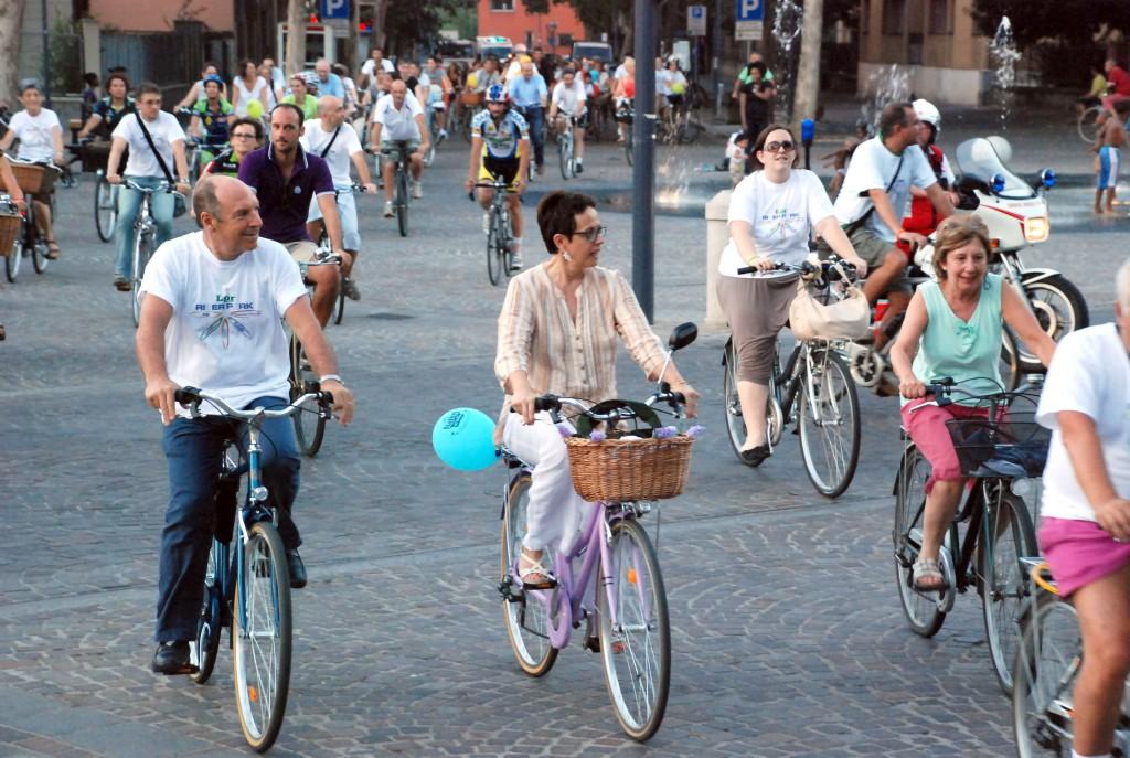 Biciclettata in centro