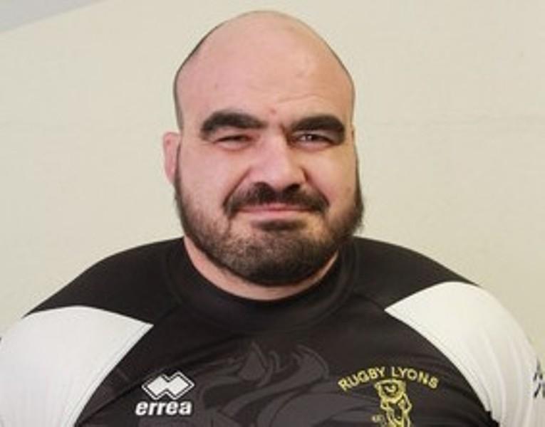 Tino Paoletti, 36 anni, pilone destro Sitav Lyons