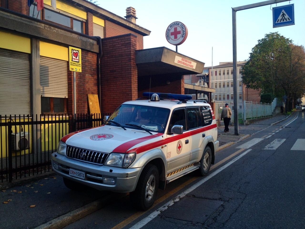 La Croce Rossa è stretta e pensa al trasloco nella ex caserma dei pompieri