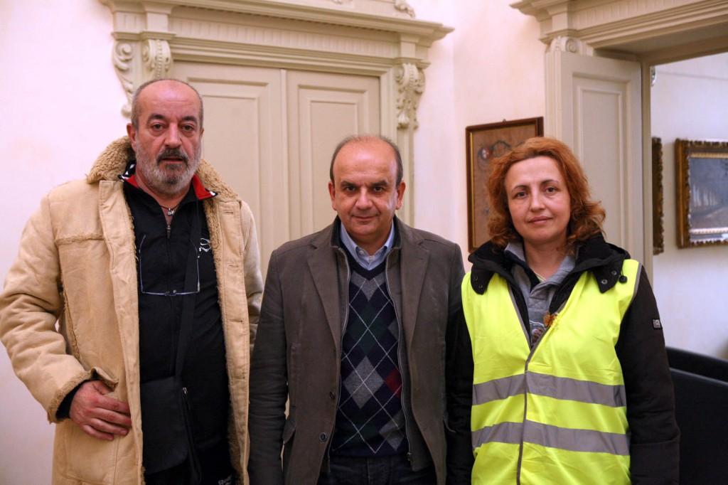 sindaco incontra pellegrini  foto bellardo