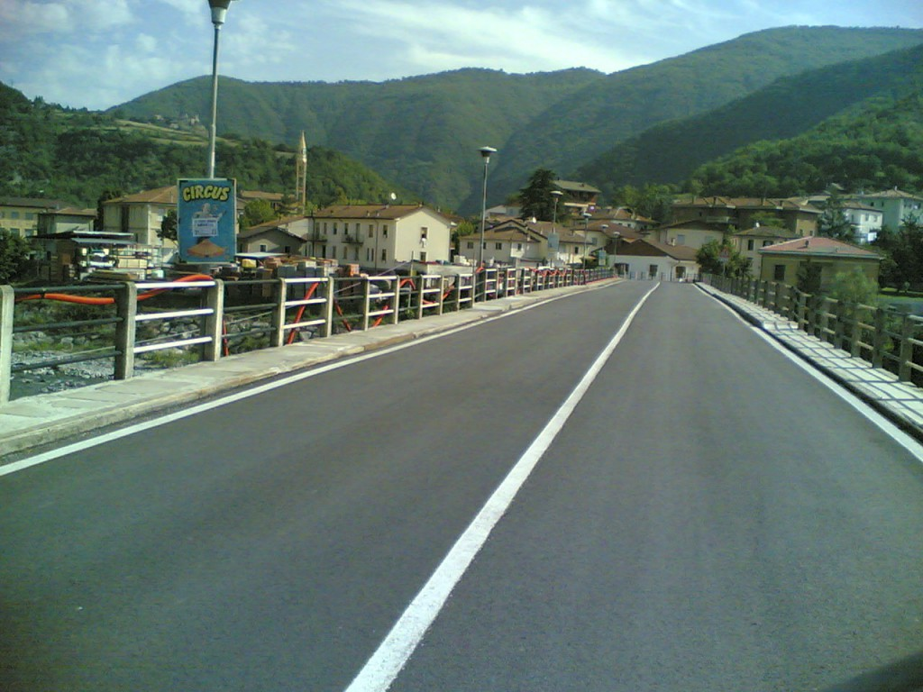 Ponte della statale 45 di Marsaglia