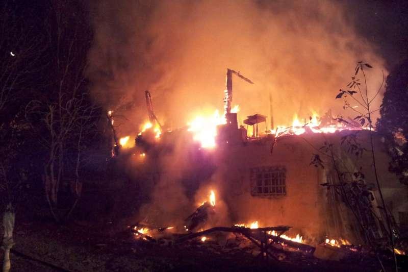 Incendio casa a Colle San Giuseppe (4)