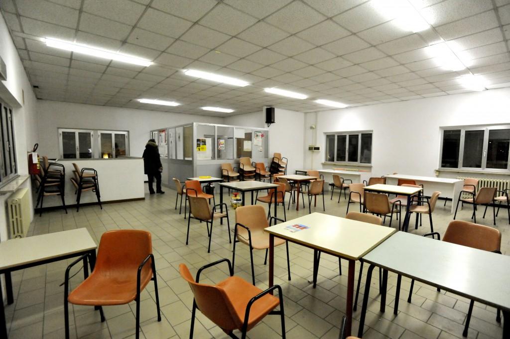 La sala delle consulte all'ex Quartiere 2