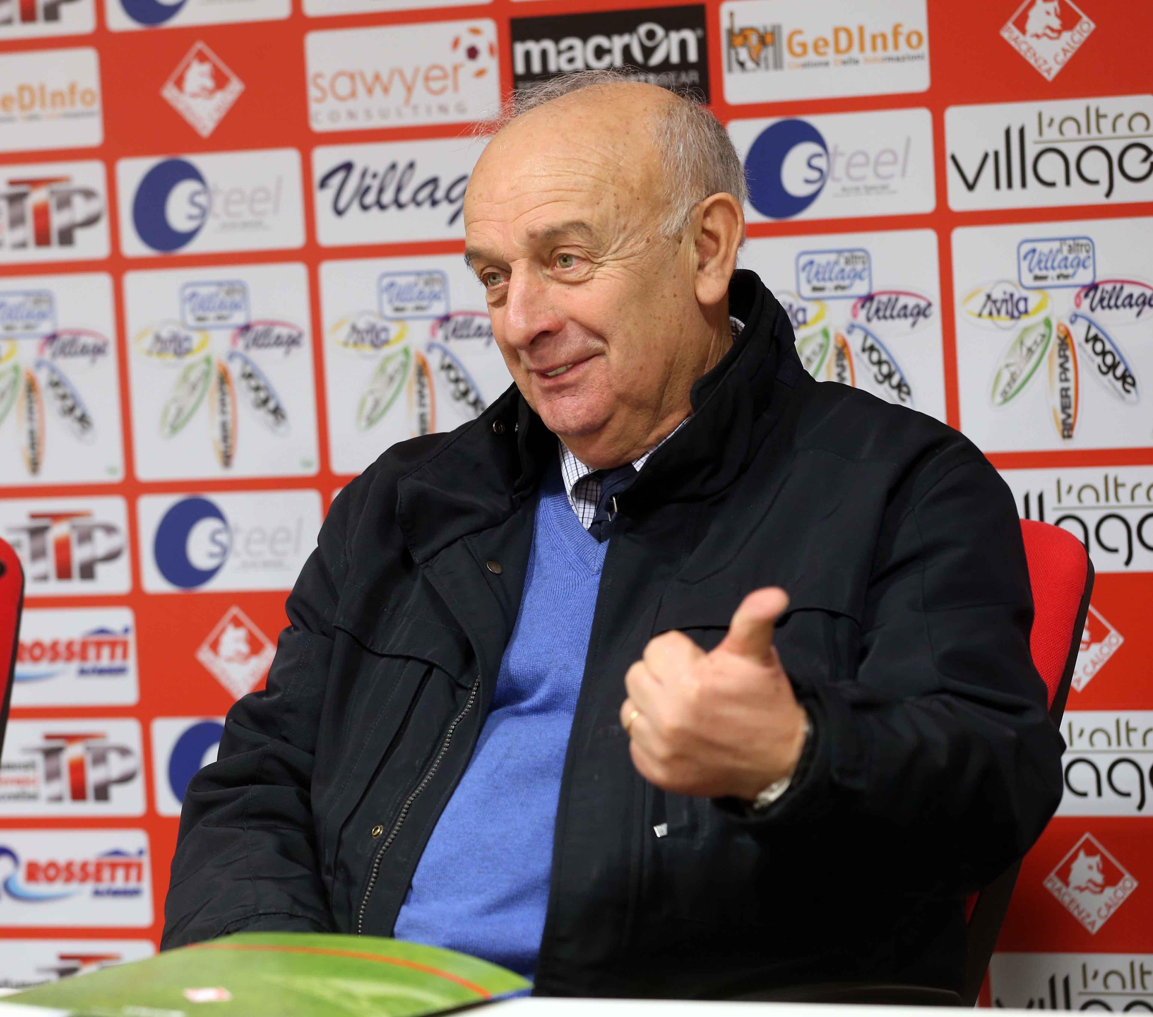 Il ritorno di Gianni Rubini al Piacenza Calcio