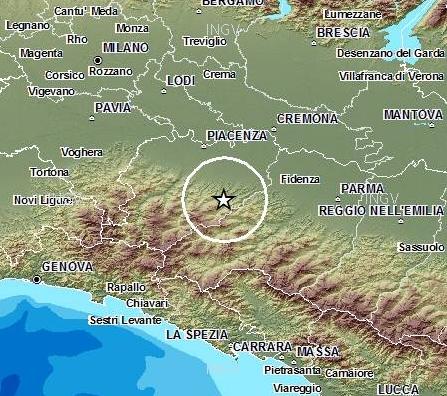 Terremoto Valdarda Valtaro