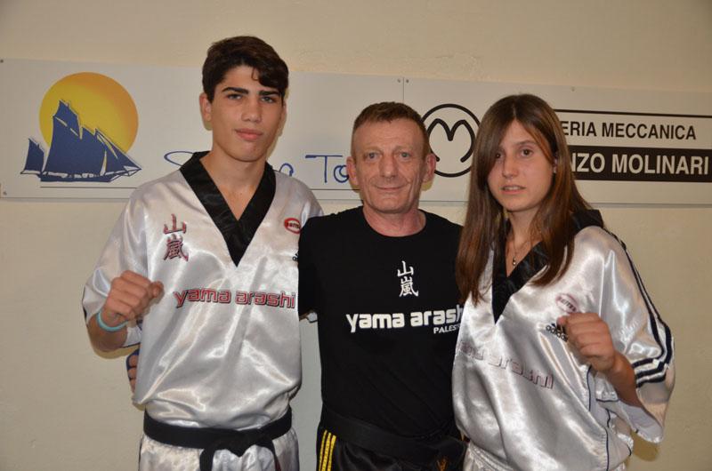 Kick Boxing - Gli Azzurri Carmela Abbate e David Pintore