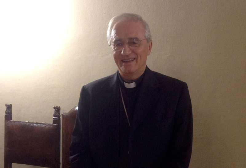 Il vescovo mons. Gianni Ambrosio