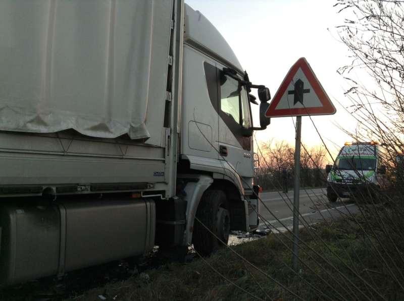Incidente stradale a Caorso (2)