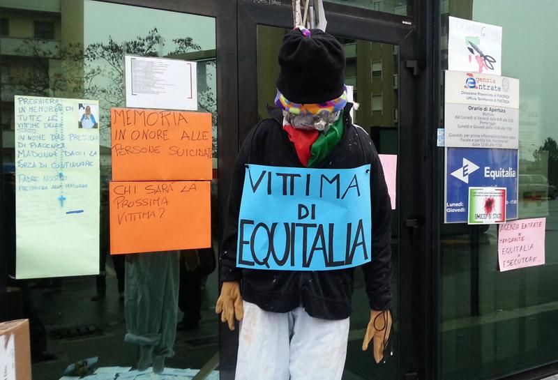 Proteste contro Equitalia