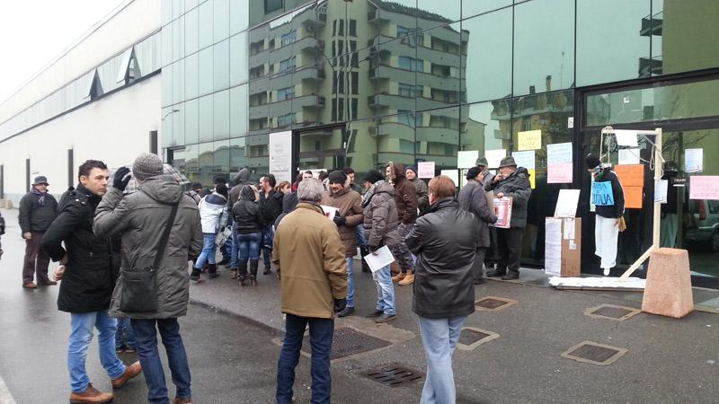 Protesta contro Equitalia