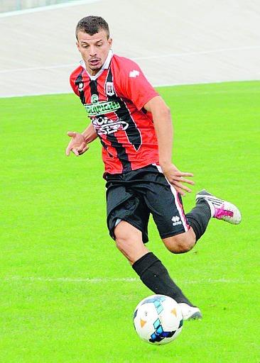 Luca Franchi, attaccante e leader del Fiorenzuola