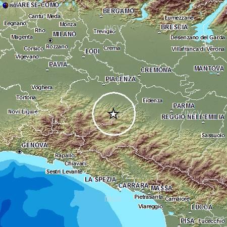 Terremoto in Valditaro, 2 dicembre 2013