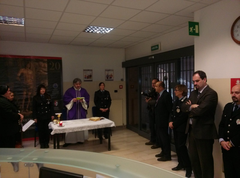 Messa polizia municipale