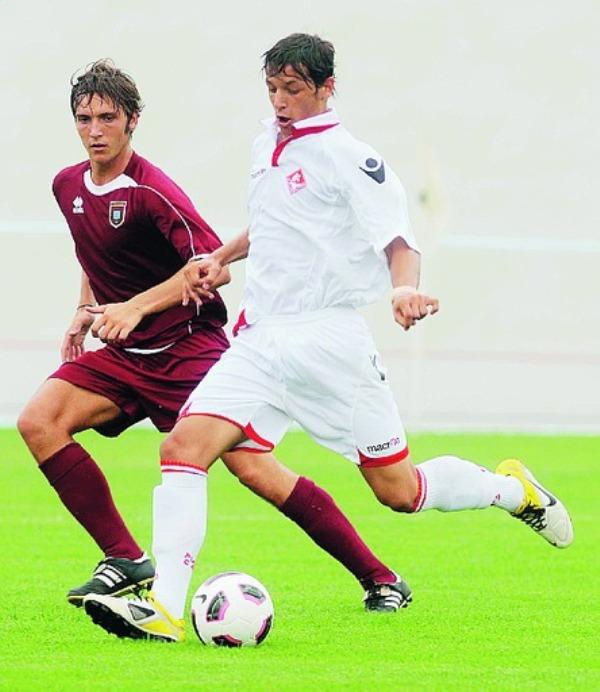Jonathan Alexis Ferrante in azione ai tempi del Piacenza Calcio Fc